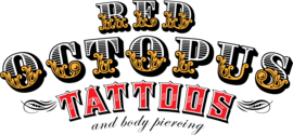 Red Octopus Tattoos Gift Cards