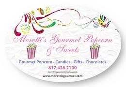 Moretti's Gourmet Popcorn & Sweets
