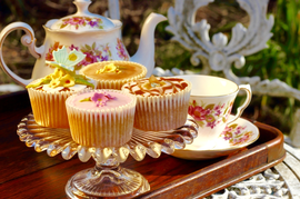 THE PAINTED TEA CUP