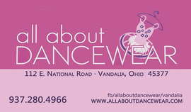 all about DANCEWEAR, Vandalia