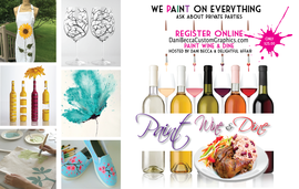 Paint Wine & Dine